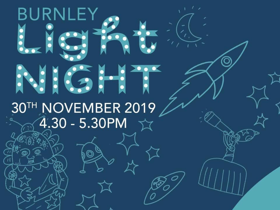 Burnley Town Centre Events and Activities  November 2019